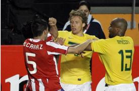 Brasil e Paraguai. Foto retirado do site: http://www.terceirotempo.ig.com.br