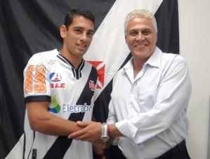 Diego Souza e Roberto Dinamite: Fonte globoesporte.com.br
