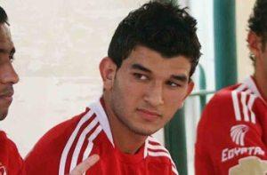 Amir Sayoud, Atleta do Al Ahly do Egito - fonte:  http://nilesports.com