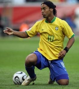 Ronaldinho Gaúcho. Foto retirada do site: http://sportv.globo.com