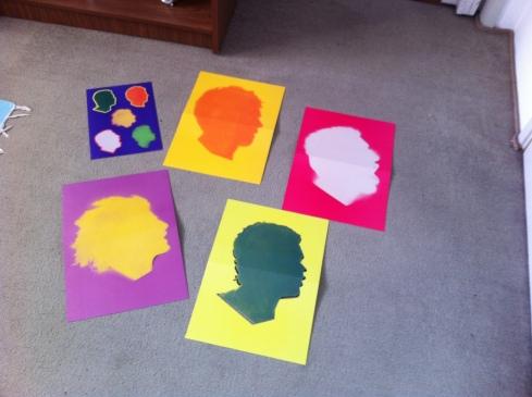 Máscaras de stencil/pixo e adesivos!